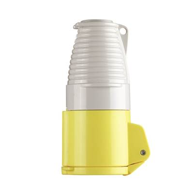 Defender 16A Coupler - Yellow 110V