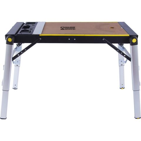 Builders Brand 4 in 1 Work Station 63180 Work Bench - Hop up - Hand trolley & Car creeper