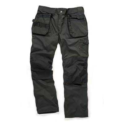 Scruffs Forest Green Trade Trousers