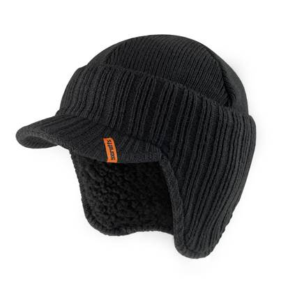 Scruffs Scruffs Peaked Knitted Hat Black