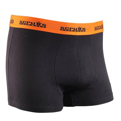 Scruffs 2 Pack Boxer Shorts