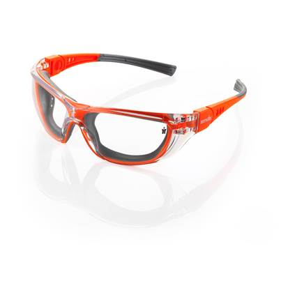 Scruffs Falcon Safety Orange and Grey Specs