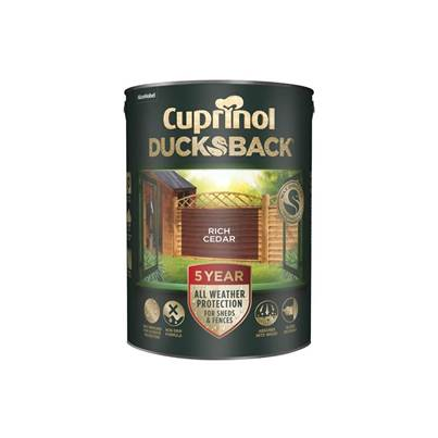 Cuprinol Ducksback 5 Year Waterproof for Sheds & Fences