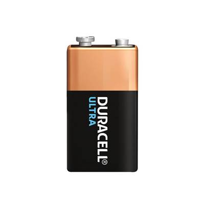 Duracell 9v Cell Ultra Power Battery Pack of 1
