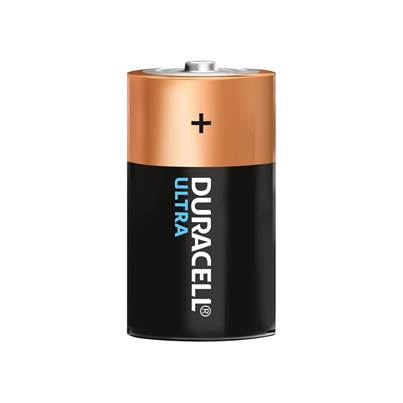 Duracell D Cell Ultra Power Batteries Pack of 2