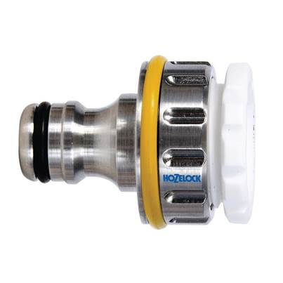 Hozelock 2041 Pro Metal Threaded Tap Connector 12.5 - 19mm (1/2 - 3/4in)