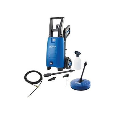 Kew Nilfisk Alto C110.4-5 PCD X-TRA Pressure Washer with Patio & Drain Cleaner 110 Bar 240 Volt