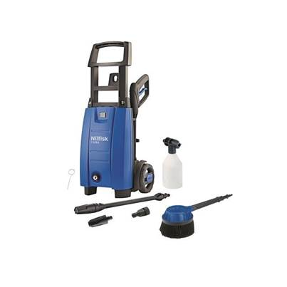 Kew Nilfisk Alto C120 6.6 X-TRA RB Pressure Washer & Rotary Brush 120 Bar 240 Volt