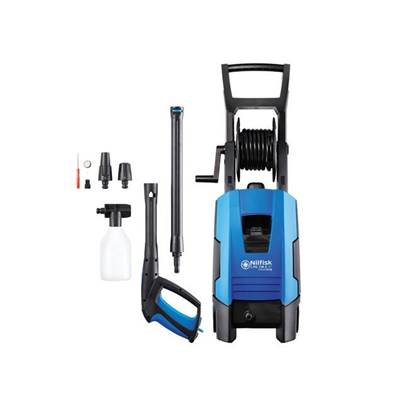 Kew Nilfisk Alto CPG 130.2-8 P X-TRA Pressure Washer & Patio Brush 130 Bar 240 Volt