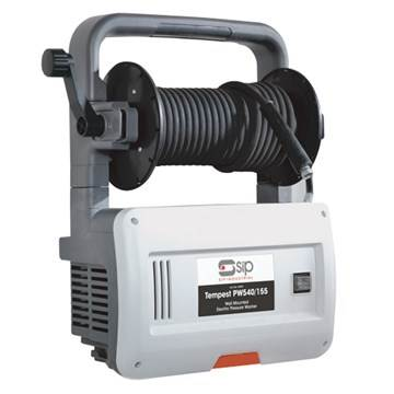 SIP PW540/155 Wall Mounted/Portable Electric Pressure Washer 2320psi (106 bar) 08909