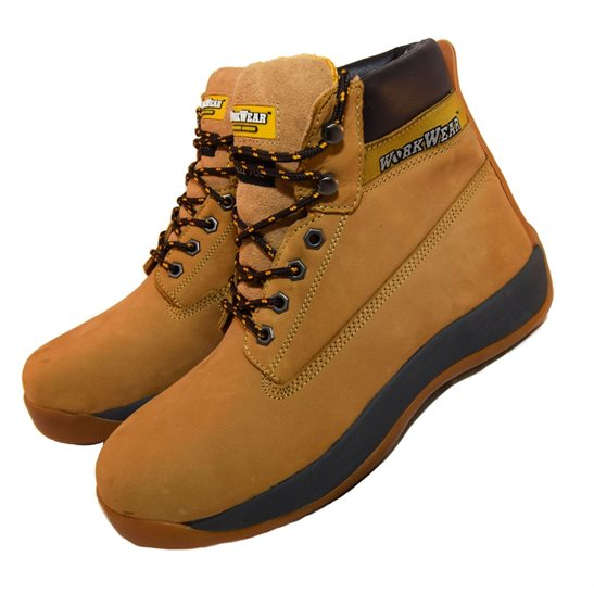 additional image for Workwear Nubuck Tan Steel Toe Safety Boot