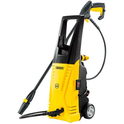 Draper Yellow DP7 Home Pressure Washer (1700W) 90bar 53511