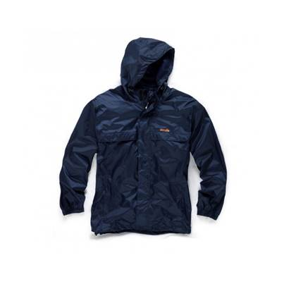 Scruffs Pac Away Water Proof Jacket Blue X-Large