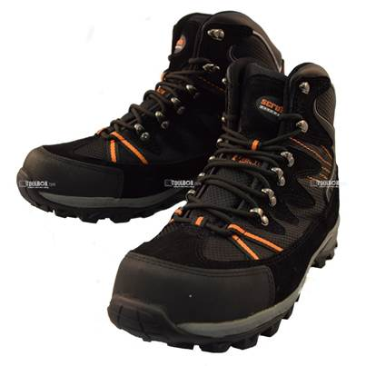 Scruffs Meteor Black Safety Steel Toe Hiker Boot Size 8