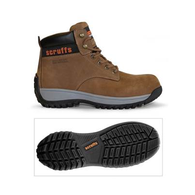 Scruffs Typhoon Dusk Steel Toe Safety Work Boot Size 10