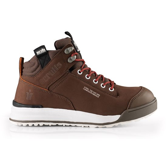 Image for Switchback Brown Steel Toe Safety Boot