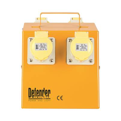 Defender 4 Way Distribution Unit - 4x 16A 110V