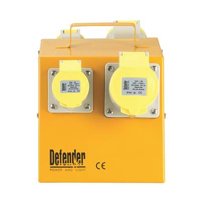 Defender 4-Way Power Splitter Unit 110V