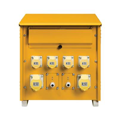 Defender 10kVA 3 Phase Mk2 Transformer 110V incl 4X 16A 2X 32A, 2X Lighting outlets