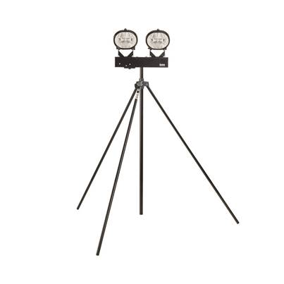 Defender 400W Halogen Twin Head Swing Leg Tripod