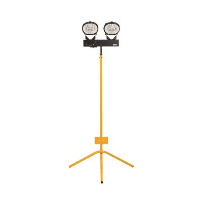 Defender 400W Halogen Twin Head Fixed Leg Tripod