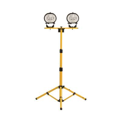 Defender Workshop Halogen Twin Head Tripod Work Light