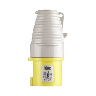 Defender 16A Plug - Yellow 110V