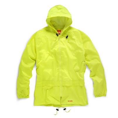 Scruffs Yellow Waterproof Suit
