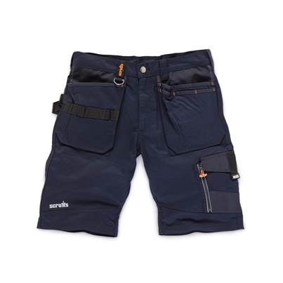 Scruffs Blue Trade Short
