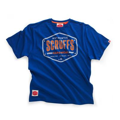 Scruffs Authentic Royal Blue T-Shirt