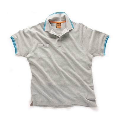 Scruffs Scruffs Worker Polo Grey