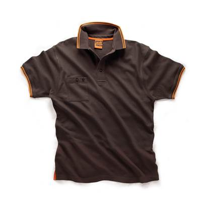 Scruffs Scruffs Worker Polo Graphite