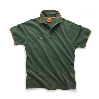 Scruffs Scruffs Worker Polo Green