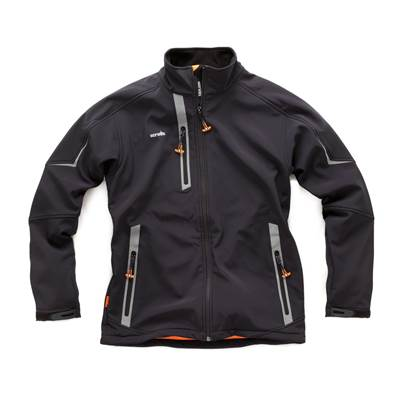 Scruffs Pro Softshell Jacket Black