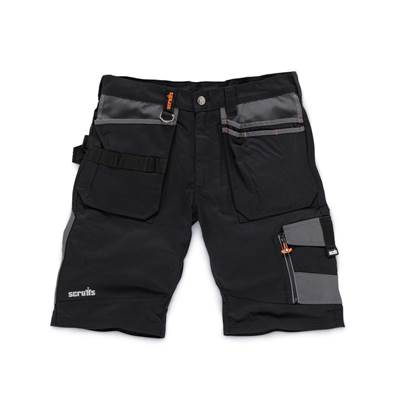 Scruffs Black  Trade Short