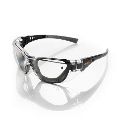 Scruffs Falcon Safety Black Specs