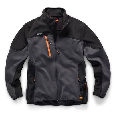 Scruffs Trade Tech Softshell Jacket Charcoal