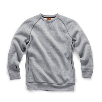 Scruffs Trade Sweatshirt Grey Marl