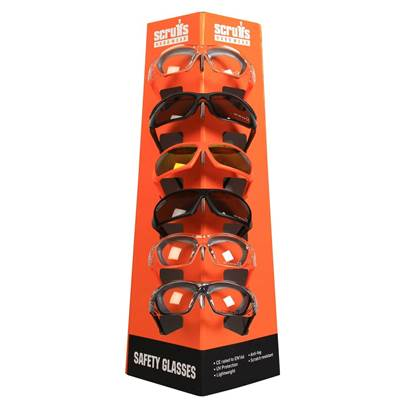 Scruffs Scruffs Safety Glasses POS