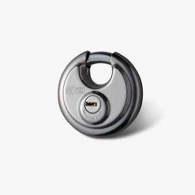 Van Vault Van Vault New Style 70mm Disc Lock