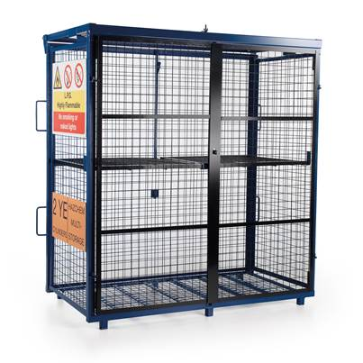Van Vault Fold-Away Gas Cage