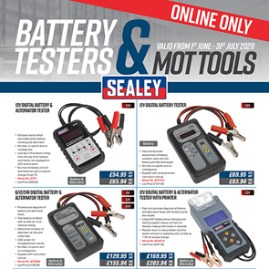 view Battery Testers & MOT Tools products