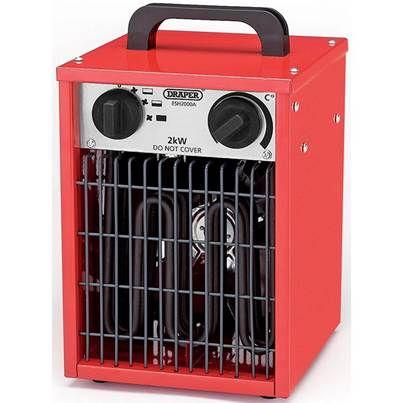 Draper Electric Space Heater (2 kW/230V)