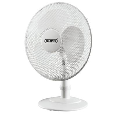 "Draper 16"" Desk Fan (400mm)"