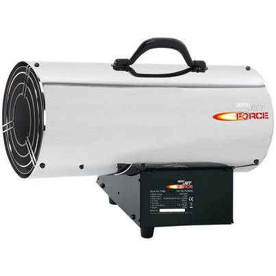 Draper Jet Force Stainless Steel Propane Space Heater (85,000 BTU/25 kW)
