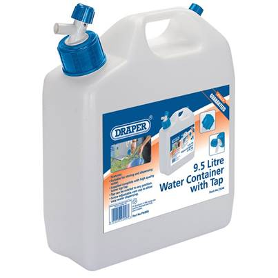 Draper Water Container with Tap (9.5L)