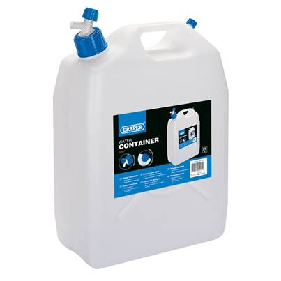 Draper Water Container with Tap (25L)