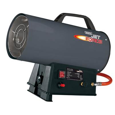 Draper Jet Force Propane Space Heater (34,000 BTU/10 kW)