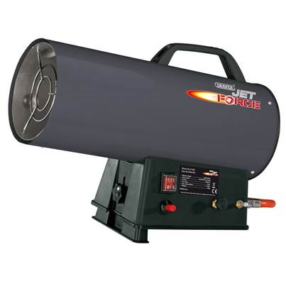 Draper Jet Force Propane Space Heater (50,000 BTU/15 kW)
