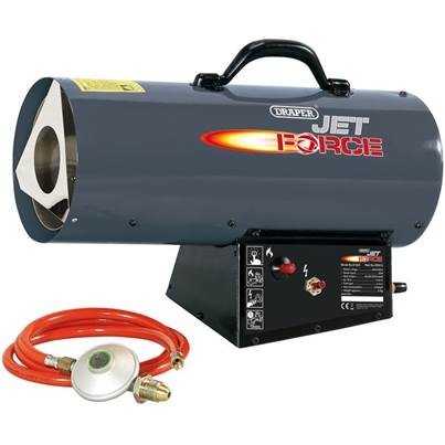 Draper Jet Force Propane Space Heater (40,000 BTU/12 kW)